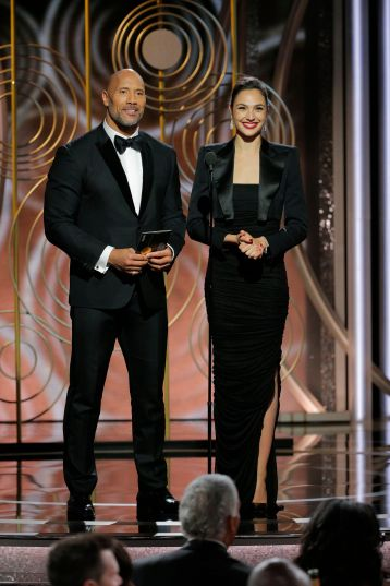 The Rock & Gal Gadot