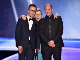 Sam Rockwell, Frances McDormand, Woody Harrelson