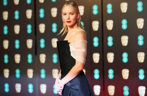 British Academy of Film and Television Awards (BAFTA) at the Royal Albert Hall in London