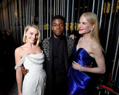 Boseman, Kidman, Robbie