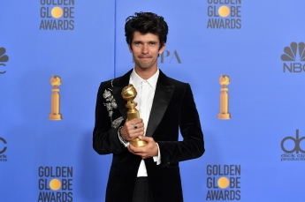 Mandatory Credit: Photo by Rob Latour/REX/Shutterstock (10048070g)Ben Whishaw - Best Supporting Actor in a Series Limited-Series or TV Movie - 'A Very English Scandal'76th Annual Golden Globe Awards, Press Room, Los Angeles, USA - 06 Jan 2019