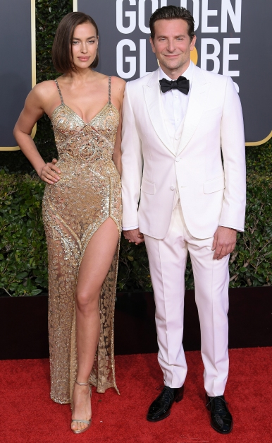 Mandatory Credit: Photo by David Fisher/REX/Shutterstock (10048065do)Irina Shayk and Bradley Cooper76th Annual Golden Globe Awards, Arrivals, Los Angeles, USA - 06 Jan 2019