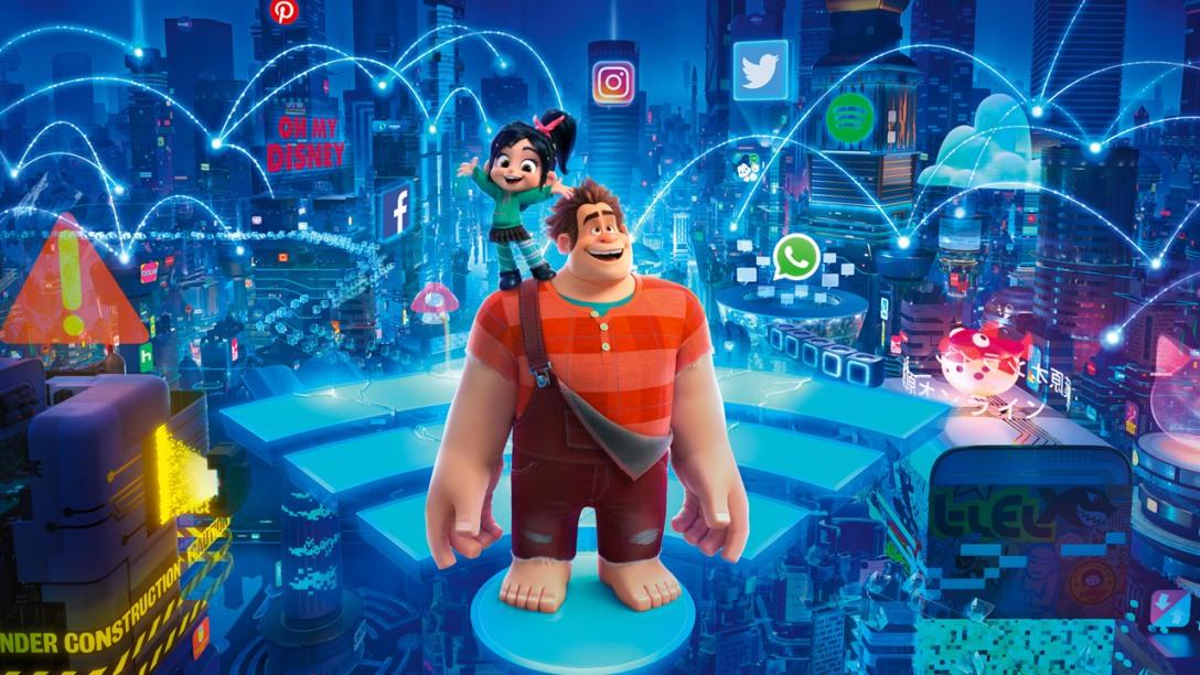 ralph spacca internet  Ralph spacca Internet – Stanze di Cinema