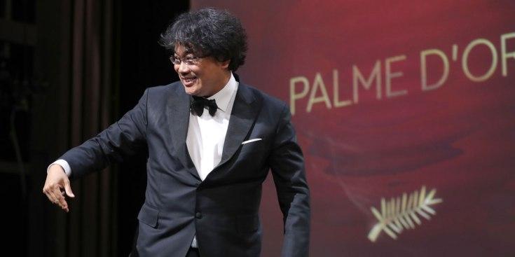 Bong Joon Ho Palme d'Or 3