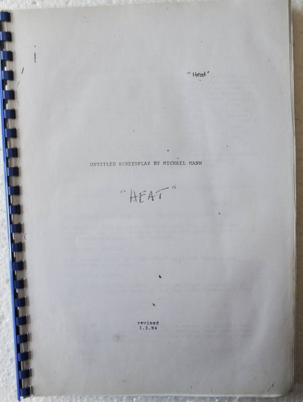 Screenplay Heat