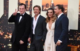 Tarantino Pitt Robbie Di Caprio