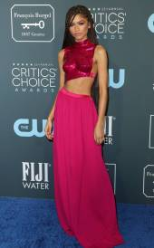 zendaya-2020-Critics-Choice-Awards-red-carpet-fashions